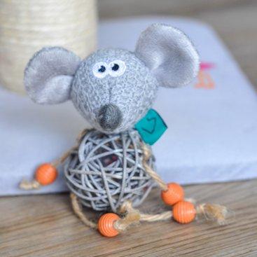 Nip-it Catnip Bell Mouse