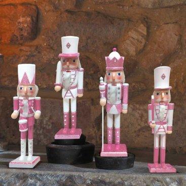 Nutcracker - Pink/white