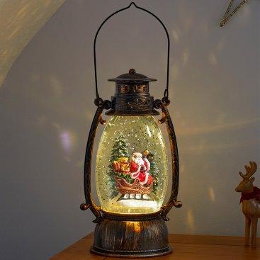 SnowSwirl Sleigh Lantern