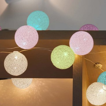 Glo-Globes 4cm Assorted - Set of 50