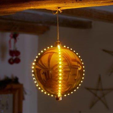 15cm Meteor Shower - Gold