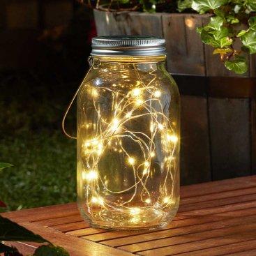 Firefly Decor Jar