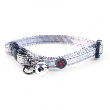 WonderLust Cat Collar - Silver Bling