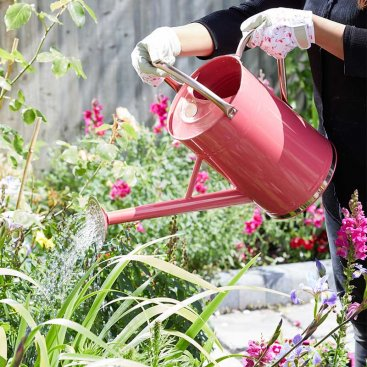 Watering Can 9L, Coral Pink
