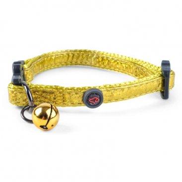 WonderLust Cat Collar - Gold Bling