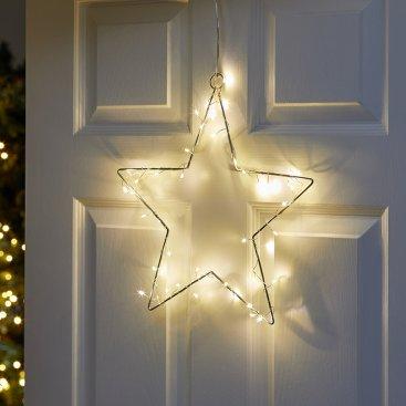 Sparkly Star Silhouette