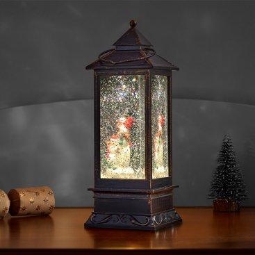 SnowSwirl Snowman Lantern