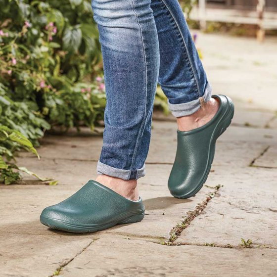 Comfi Garden Clogs Green S12