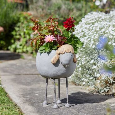 Woodstone Sheep Planter