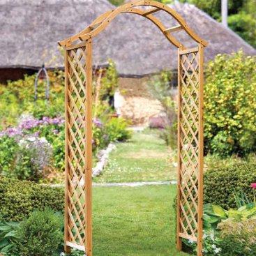 Woodland Garden Arch - Tan, FSC 1