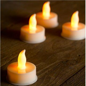 Flameless LED T-Light, 6 pack